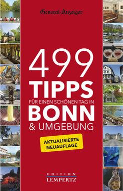 499 Tipps für einen schönen Tag in Bonn & Umgebung, Artikelnummer: 9783945152041