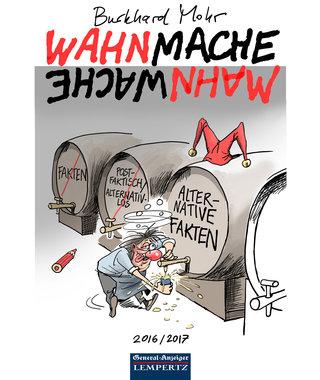 Wahnmache Mahnwache - Karikaturen, Artikelnummer: 9783960589938
