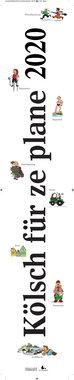 Kölsch für ze plane 2020: Streifenplaner, Artikelnummer: 9783960583028