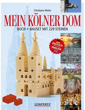 Mein Kölner Dom, Buch und Bauset mit 229 Steinen, Artikelnummer: _9783960582779