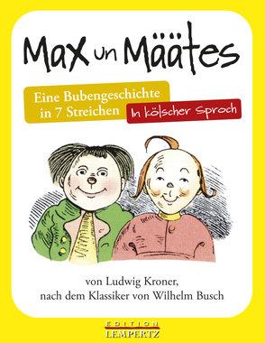 Max un Määtes, Artikelnummer: 9783960583431